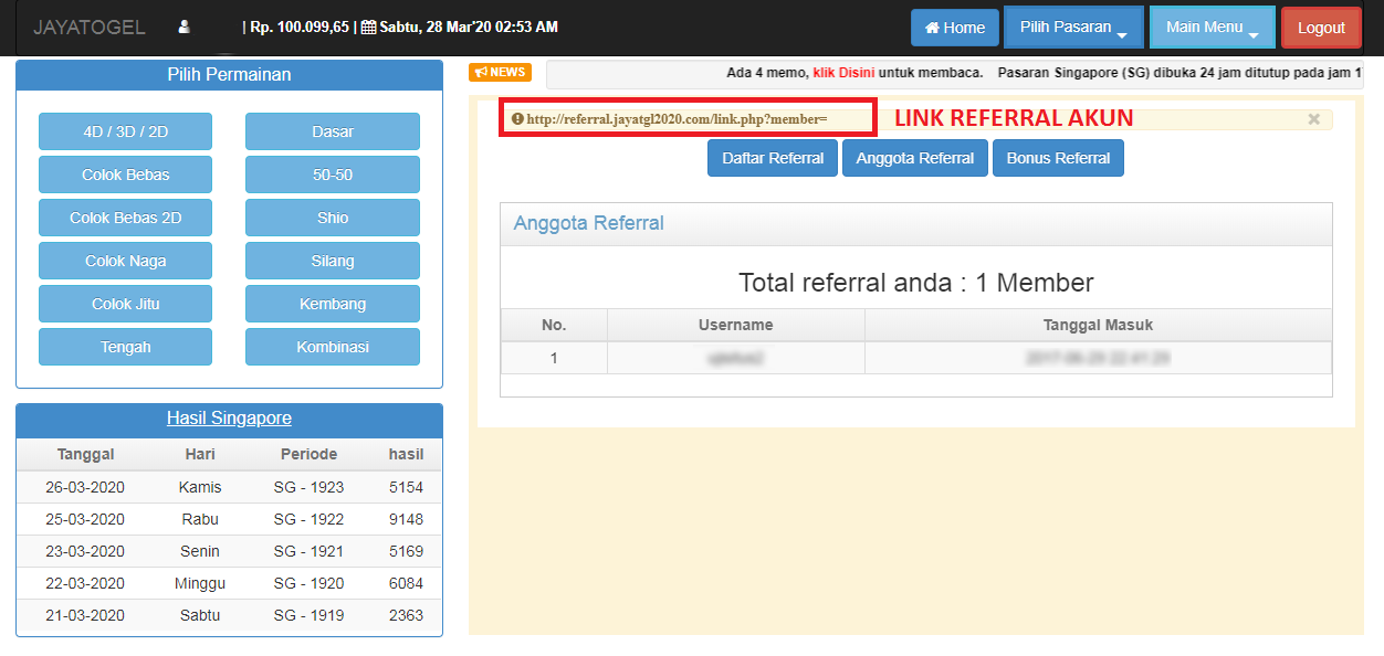 Tips Membagikan Link Referral